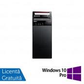 Calculator Lenovo E72 Tower, Intel Core i3-2120 3.30GHz, 4GB DDR3, 500GB SATA + Windows 10 Pro, Refurbished Calculatoare Refurbished