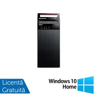 Calculator Lenovo Edge72 Tower, Intel Core i3-3220 3.30GHz, 4GB DDR3, 500GB SATA, DVD-RW + Windows 10 Home