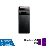 Calculator Lenovo Edge72 Tower, Intel Core i3-3220 3.30GHz, 4GB DDR3, 500GB SATA, DVD-RW + Windows 10 Pro