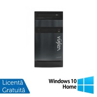 Calculator Viglen Tower, Intel Core i7-4790 3.6GHz, 4GB DDR3, 500GB SATA, DVD-RW + Windows 10 Home
