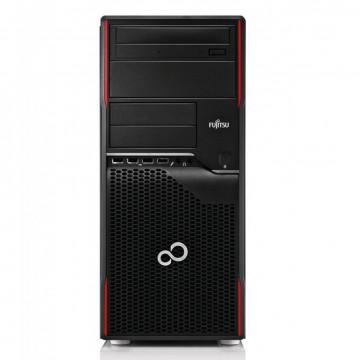 Calculator Fujitsu Celsius W420 Tower, Intel Core i7-3770 3.40GHz, 8GB DDR3, 120GB SSD, DVD-RW, Second Hand Calculatoare Second Hand