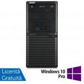 Calculator Acer Veriton M2632 Tower, Intel Core i5-4460S 2.90GHz, 4GB DDR3, 500GB SATA, DVD-RW + Windows 10 Pro, Refurbished Calculatoare Refurbished