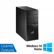 Calculator FUJITSU SIEMENS Esprimo P710 Tower, Intel Core i3-2120 3.30GHz, 4GB DDR3, 250GB SATA, DVD-RW + Windows 10 Home Calculatoare Refurbished