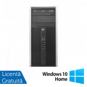 Calculator HP 6300 Pro Tower, Intel Pentium G640 2.80GHz, 4GB DDR3, 250GB SATA, DVD-RW + Windows 10 Home Calculatoare Refurbished