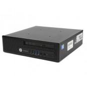 Calculator HP Compaq EliteDesk 800 G1 USDT, Intel i5-4570s, 4GB DDR3, 500GB HDD, DVD-ROM Calculatoare Second Hand