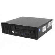 Calculator HP Compaq EliteDesk 800 G1 USDT, Intel i5-4570s, 4GB DDR3, 500GB HDD, DVD-ROM
