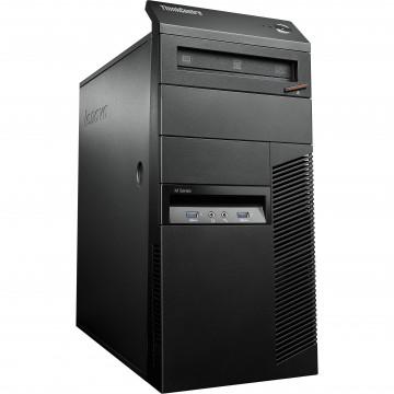 Calculator LENOVO Thinkcentre M93p Tower, Intel Core i5-4570 3.40 GHz, 4GB DDR3, 250GB SATA, DVD-RW, Second Hand Calculatoare Second Hand