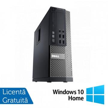 Calculator Refurbished DELL OptiPlex 9010 SFF, Intel Core i5-3470 3.20 GHz, 4 GB DDR 3, 250GB SATA, DVD-ROM + Windows 10 Home Calculatoare Refurbished