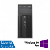 Calculator Refurbished HP 6300 Pro MT, Intel Pentium Dual Core G645, 2.90GHz, 4GB DDR3, 200GB SATA, DVD-ROM + Windows 10 Pro Calculatoare Refurbished