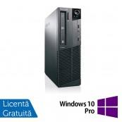 Calculator Refurbished LENOVO M81, SFF, Intel Core i5-2400, 3.10 GHz, 4 GB DDR3, 160GB SATA, DVD-ROM + Windows 10 Pro Calculatoare Refurbished
