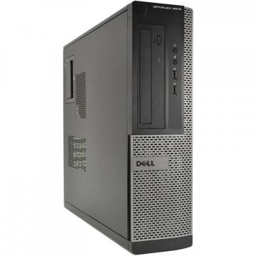 Calculator DELL OptiPlex 3010 Desktop, Intel Pentium G870 3.10GHz, 4GB DDR3, 250GB SATA, DVD-RW, Second Hand Calculatoare Second Hand