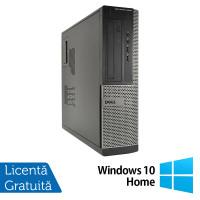 Calculator DELL OptiPlex 3010 Desktop, Intel Pentium G870 3.10GHz, 4GB DDR3, 250GB SATA, DVD-RW + Windows 10 Home