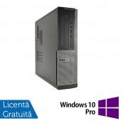 Calculator DELL OptiPlex 3010 Desktop, Intel Pentium G870 3.10GHz, 4GB DDR3, 250GB SATA, DVD-RW + Windows 10 Pro, Refurbished Calculatoare Refurbished