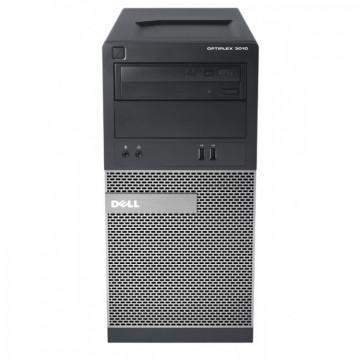 Calculator Dell OptiPlex 3010 Tower, Intel Core i3-3240 3.40GHz, 4GB DDR3, 500GB SATA, DVD-RW, Second Hand Calculatoare Second Hand