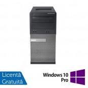 Calculator Dell OptiPlex 390 Tower, Intel Core i3-2100 3.10GHz, 4GB DDR3, 500GB SATA, DVD-RW + Windows 10 Pro, Refurbished Calculatoare Refurbished