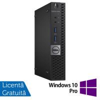 Calculator Mini PC DELL Optiplex 3040, Intel Core i5-6500T 2.50GHz, 8GB DDR3, 250GB SATA + Windows 10 Pro