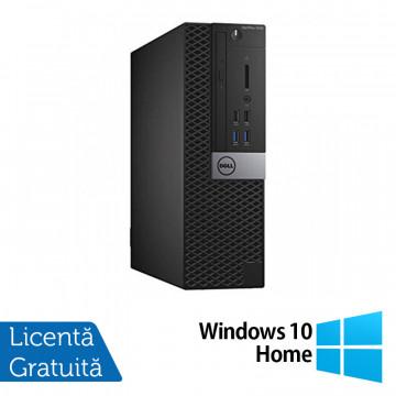 Calculator DELL OptiPlex 7040 SFF, Intel Core i3-6100 3.70GHz, 4GB DDR4, 500GB SATA + Windows 10 Home, Refurbished Calculatoare Refurbished