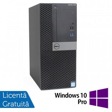 Calculator DELL OptiPlex 7040 Tower, Intel Core i5-6500 3.20GHz, 16GB DDR4, 500GB SATA + Windows 10 Pro, Refurbished Calculatoare Refurbished