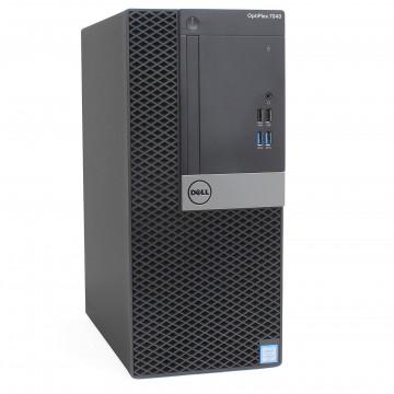 Calculator DELL OptiPlex 7040 Tower, Intel Core i5-6500 3.20GHz, 8GB DDR4, 240GB SSD, DVD-RW, Second Hand Calculatoare Second Hand