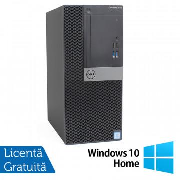 Calculator DELL OptiPlex 7040 Tower, Intel Core i5-6500 3.20GHz, 8GB DDR4, 240GB SSD, DVD-RW + Windows 10 Home, Refurbished Calculatoare Refurbished