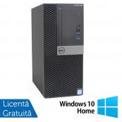 Calculator DELL OptiPlex 7040 Tower, Intel Core i5-6500 3.20GHz, 8GB DDR4, 500GB SATA, DVD-RW + Windows 10 Home, Refurbished Calculatoare Refurbished