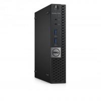 Calculator DELL OptiPlex 7050 Mini PC, Intel Core i5-7500T 2.70GHz, 8GB DDR4, 240GB SSD
