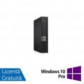 Calculator DELL OptiPlex 7050 Mini PC, Intel Core i5-7500T 2.70GHz, 8GB DDR4, 240GB SSD + Windows 10 Pro, Refurbished Calculatoare Refurbished