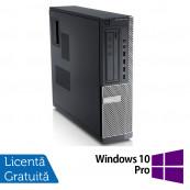 Calculator DELL GX790 Desktop, Intel Core i3-2100 3.10 GHz, 4GB DDR3, 500GB SATA, DVD-ROM + Windows 10 Pro, Refurbished Calculatoare Refurbished