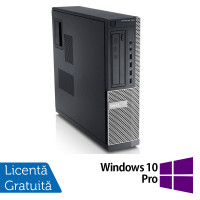 Calculator DELL GX790 Desktop, Intel Core i3-2100 3.10 GHz, 4GB DDR3, 500GB SATA, DVD-ROM + Windows 10 Pro