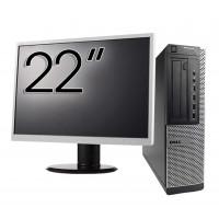 Pachet Calculator DELL 790 Desktop, Intel Core i5-2400 3.10GHz, 4GB DDR3, 250GB SATA, DVD-ROM + Monitor 22 Inch