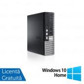 Dell OptiPlex 790 USFF, Intel Core i3-2100 3.10GHz, 4GB DDR3, 250GB SATA + Windows 10 Home, Refurbished Calculatoare Refurbished