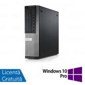 Calculator DELL Optiplex 9010 Desktop, Intel Core i5-3570 3.40GHz, 4GB DDR3, 500GB SATA, DVD-ROM + Windows 10 Pro, Refurbished Calculatoare Refurbished