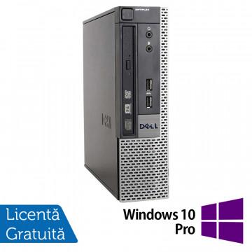 Calculator Dell 9010 USFF, Intel Core i5-3470S 2.90GHz, 4GB DDR3, 500GB SATA, DVD-RW + Windows 10 Pro, Refurbished Calculatoare Refurbished