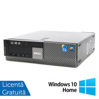 Calculator Dell Optiplex 980 SFF, Intel Core i3-550 3.20GHz, 4GB DDR3, 320GB SATA, DVD-RW + Windows 10 Home