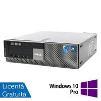 Calculator Dell Optiplex 980 SFF, Intel Core i3-550 3.20GHz, 4GB DDR3, 320GB SATA, DVD-RW + Windows 10 Pro