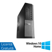 Calculator Dell OptiPlex 990 Desktop, Intel i7-2600 3.40GHz, 4GB DDR3, 500GB SATA + Windows 10 Home