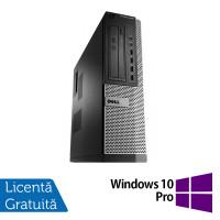 Calculator Dell OptiPlex 990 Desktop, Intel i7-2600 3.40GHz, 4GB DDR3, 500GB SATA + Windows 10 Pro