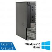 Calculator Dell 990 USFF, Intel Core i5-2400s 2.50GHz, 4GB DDR3, 250GB SATA, DVD-RW + Windows 10 Home, Refurbished Calculatoare Refurbished