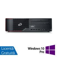 Calculator FUJITSU SIEMENS Esprimo E710 Desktop, Intel Core i3-2100 3.10GHz, 4GB DDR3, 500GB SATA, DVD-RW + Windows 10 Pro