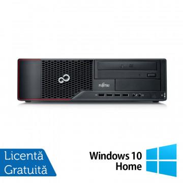Calculator FUJITSU SIEMENS Esprimo E710 Desktop, Intel Core i3-3220 3.30GHz, 4GB DDR3, 250GB SATA, DVD-RW + Windows 10 Home, Refurbished Calculatoare Refurbished
