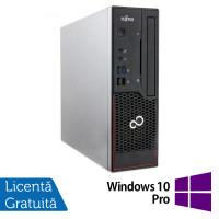 Calculator Fujitsu Esprimo C910 SFF, Intel Core i5-3470 3.20GHz, 4GB DDR3, 500GB SATA, DVD-RW + Windows 10 Pro
