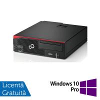 Calculator Fujitsu Esprimo D556 Desktop, Intel Pentium G4500 3.50GHz, 4GB DDR3, 500GB SATA, DVD-RW + Windows 10 Pro