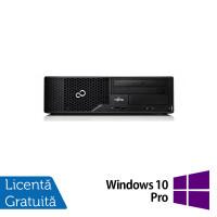 Calculator Fujitsu Esprimo E510 Desktop, Intel Core i7-3770 3.40GHz, 8GB DDR3, 120GB SSD, DVD-ROM + Windows 10 Pro