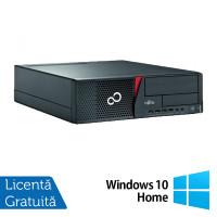 Calculator Fujitsu Siemens E700 Desktop, Intel Pentium G620 2.60GHz, 4GB DDR3, 250GB SATA, DVD-RW + Windows 10 Home