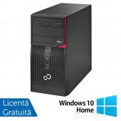 Calculator Fujitsu Siemens P556 Tower, Intel Core i3-6100 3.70GHz, 4GB DDR4, 500GB SATA, DVD-RW + Windows 10 Home, Refurbished Calculatoare Refurbished