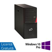 Calculator Fujitsu Esprimo P956 Tower, Intel Core i5-6500 3.20GHz, 8GB DDR4, 1TB SATA + Windows 10 Pro