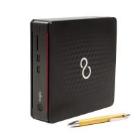 Calculator Fujitsu Esprimo Q520 USFF, Intel Core i3-4160T 3.10GHz, 8GB DDR3, 240GB SSD, DVD-RW