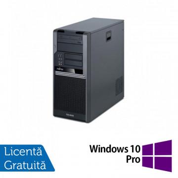 Calculator Fujitsu Siemens CELSIUS W280, Intel Core i5-650 3.20GHz, 4GB DDR3, 250GB SATA, DVD-RW + Windows 10 Pro, Refurbished Calculatoare Refurbished