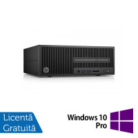 Calculator HP 280 G2 SFF, Intel Core i7-6700T 2.80GHz, 8GB DDR4, 120GB SSD, DVD-RW + Windows 10 Pro