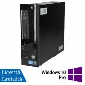 Calculator HP Pro 3300 SFF, Intel Core i3-2100 3.10GHz, 4GB DDR3, 500GB SATA, DVD-RW + Windows 10 Pro, Refurbished Calculatoare Refurbished